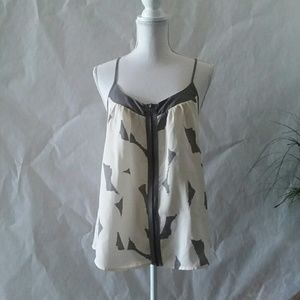 Anthropologie SOUND & MATTERS Strappy Top Large